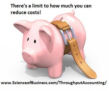 Reducing costs - operating expense