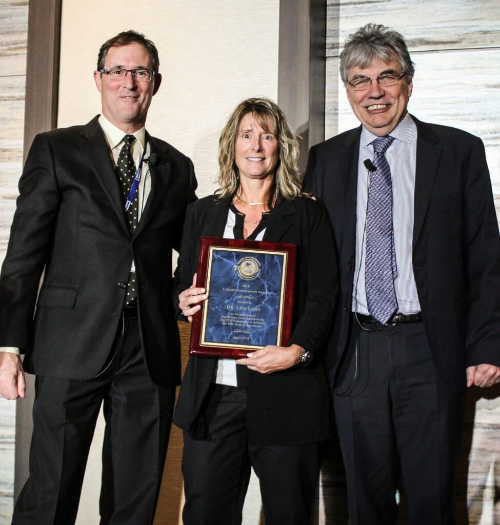 2018 Dr Lisa Lang TOCICO Lifetime Achievement Award