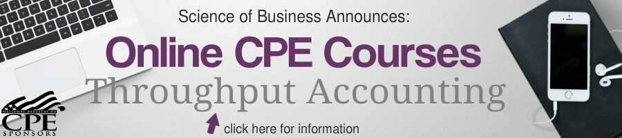 Online CPE Throughput Accounting Training