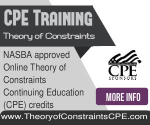 Theory of Constraints Online CPE Courses